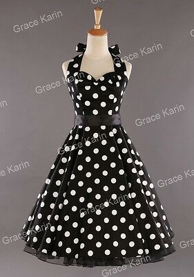 Retro Vintage Style 50s 60s Pinup Swing Evening Prom Dress PLUS SIZE
