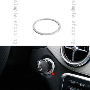Alloy Ignition Engine Start Key Ring Cover Trim For All