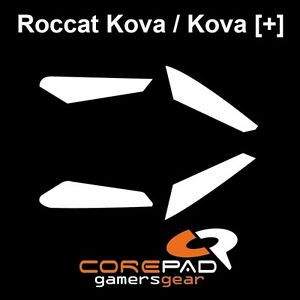 Corepad-Skatez-Roccat-Kova-Pure-Ersatz-Teflon-Mausfuesse-Maus-Fuesse-Gleiter