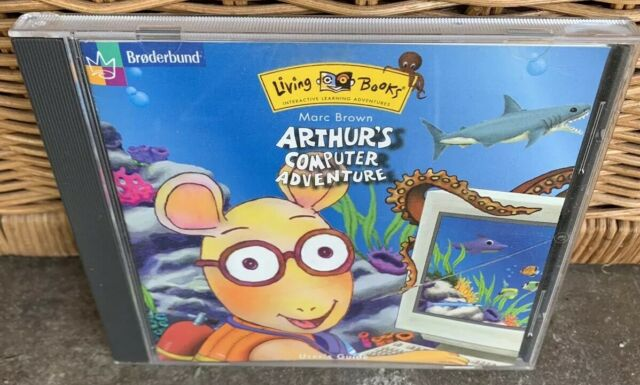 Arthur's Computer Adventure Windows 3 1 Windows 95 PC CD-ROM Game 1998 Video