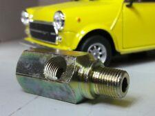 Austin Mini Morris A Series Engine Smiths Oil Pressure Gauge Adaptor T Piece