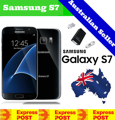 Details about  (NEW & SEALED) Samsung Galaxy S7   Factory Unlocked   Black Sapphire 32GB