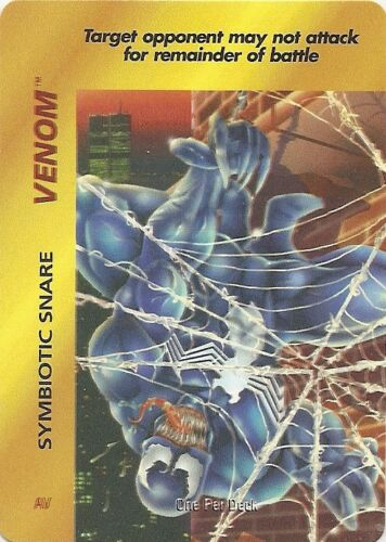 Symbiotic Snare Target no  attack OPD Original OVERPOWER Venom Marvel