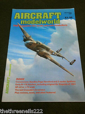 AIRCRAFT MODELWORLD - THE LAST CRUSADERS IN SERVICE -  DEC 1987
