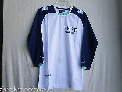 Thor Riding Race MX Motocross Women/'s Jersey S6W Clutch Navy//White X-Small