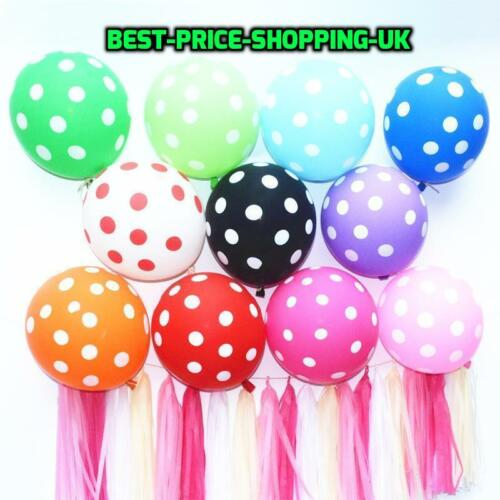 100 x New Latex large ballons air /& Helium happy birthday Party Balloons baloons