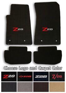 Chevrolet Camaro Z28 4pc Classic Loop Carpet Floor Mats Choose Color Logo Ebay