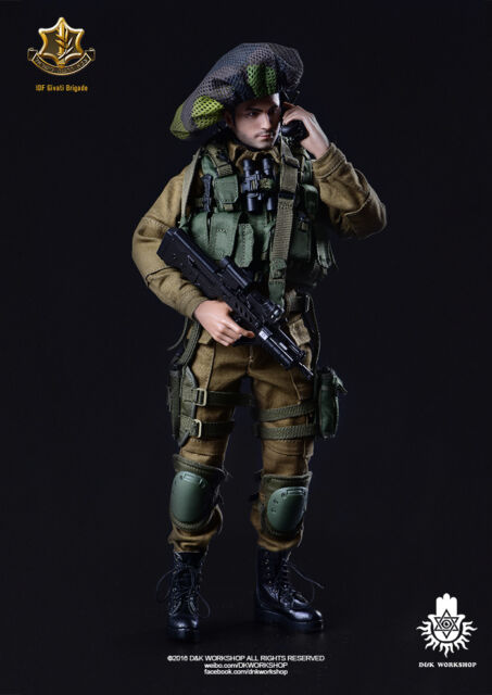 1/6 D&K Workshop IDF Givati Brigade Gaza Strip DK80001 Israeli Zahal DAMTOYS