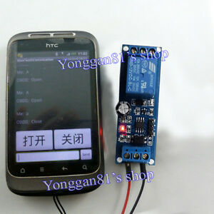 5v wireless bluetooth relay smart home android cell phone remote