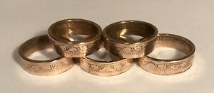 10.5 Queen Design Copper Ring Size