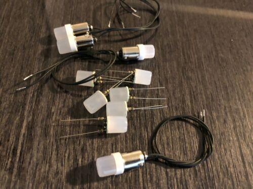 10 LED Lamps  for vintage Kenwood KR-9600 receiver  front panel.