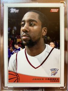 2009-10-Topps-James-Harden-Rookie-Card-319-Houston-Rockets-RC