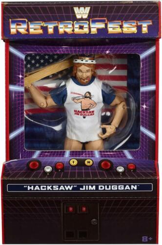 WWE Mattel retrofest dans Hacksaw Jim Duggan Elite Collection Action Figure