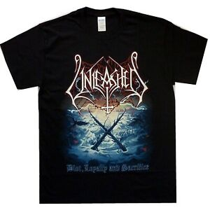 Unleashed-Blot-Loyalty-And-Sacrifice-Shirt-S-XX-Death-Metal-Band-T-Shirt-Officl