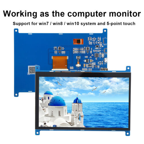 1920x1280 7in for Raspberry Pi //BB Display IPS TFT Touch Screen HDMI LCD Monitor