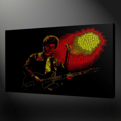 NOEL GALLAGHER CANVAS PICTURE PRINT WALL ART HOME DECOR FREE FAST DELIVERY