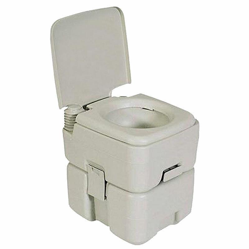 TOILETTE da campeggio viaggio toilette DOUBLE FLASH 20