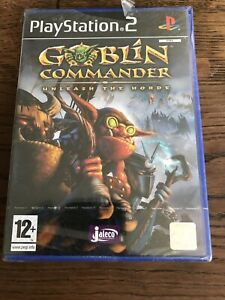 PS2-Goblin-Commander-Unleash-The-Horde-Pal-FR-Neuf-Sous-Blister