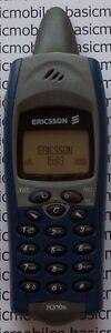 Ericsson R310s Nautic Blue Mannequin Modèle D'écran Non Fonctionnel Téléphone Mobile-afficher Le Titre D'origine