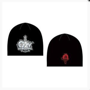 Ozzy-Osbourne-Wollmuetze-Beanie-Cap-Hat-Kappe-schwarz-Musik-Souvenir-neu
