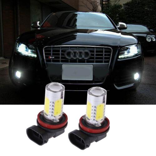 FOR Audi A4 B8 Saloon Avant H11 LED Fog Light Bulbs XENON 6000K WHITE