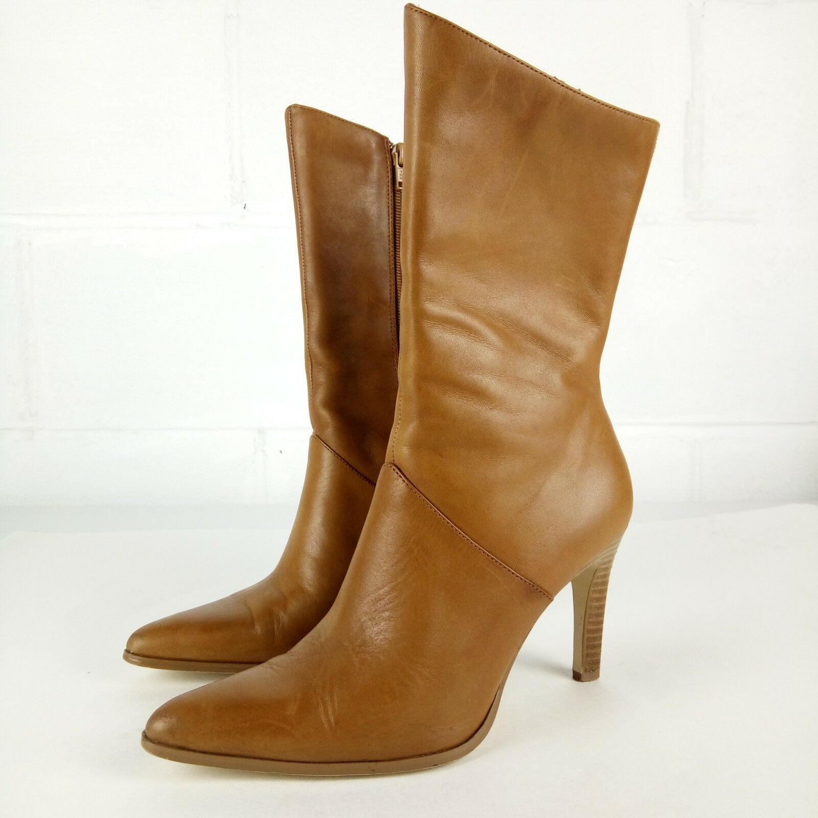 Croft & Barrow Ankle Boots Women Size 7 Leather Camel