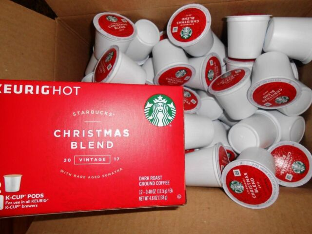 starbucks christmas blend vintage 100 k cups read description