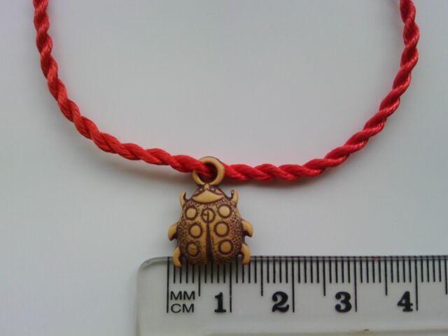 Chinese Feng Shui Charm Bracelet Blessing 'Lucky Bug' Love Present Gift Cute