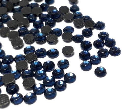 700 Hotfix ss10 strass 3 mm MONTANA Bleu Verre Cintres pierres Best 61