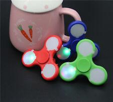 LED Fidget Spinner EDC Hand Kids Fun Toys Spinning Pocket Spin Office Focus Toy