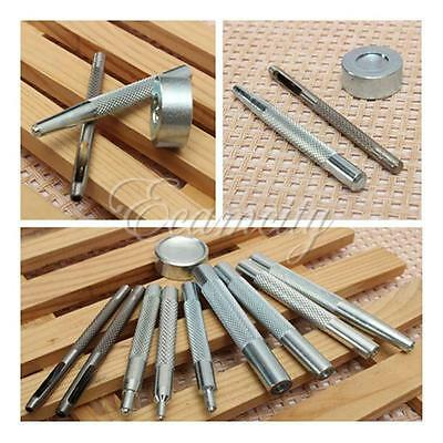 Die Punch Tool Kit Set for 10/12.5/15/17mm  Fasteners Press Studs Button DIY
