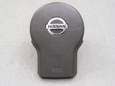 05-12 Nissan Frontier Xterra Pathfinder DRIVER SIDE WHEEL AIRBAG GREY WITH VIN#