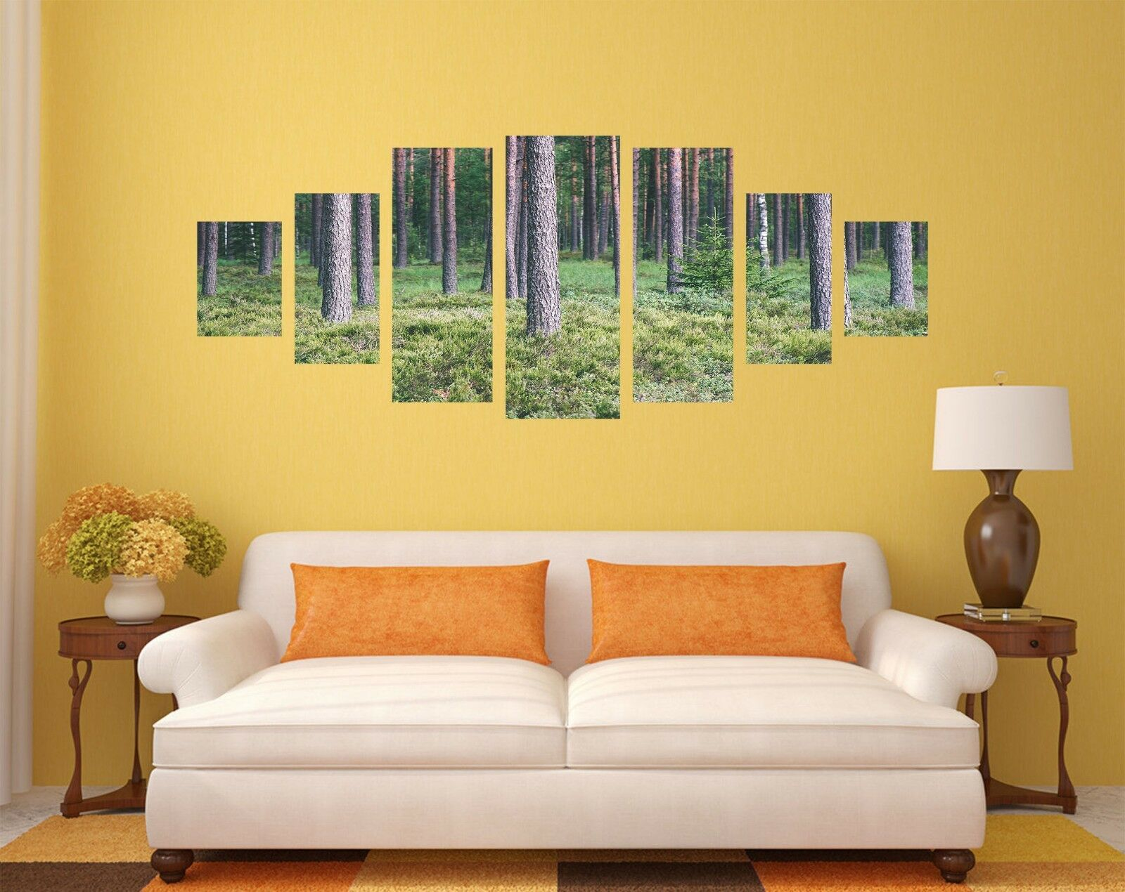 3D Forest Aisle 577 Unframed Print Wall Paper Decal Wall Deco Indoor AJ Wall