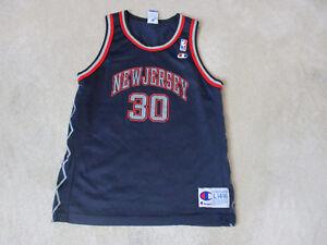 wholesale dealer f05d1 25407 VINTAGE Champion Kerry Kittles New Jersey Nets Basketball ...