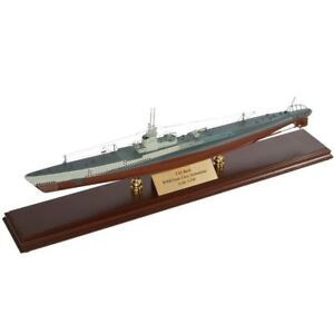 """Shock-Resistant And Antimagnetic Collectibles Spirited Unsn Gato Class Submarine 26"""" Built Wooden Model Ship Boat Assembled Waterproof"""