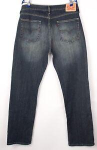 Levi's Strauss & Co Herren 514 Gerades Bein Jeans Stretch Größe W36 L34 BCZ99