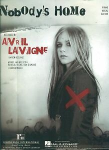 Details about AVRIL LAVIGNE 'NOBODY'S HOME