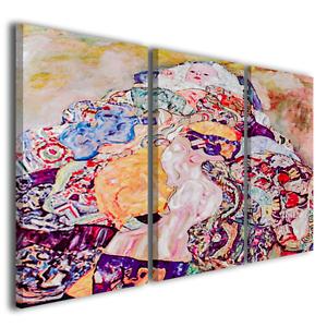 Stampe su tela Gustav Klimt La culla quadri famosi artisti ...