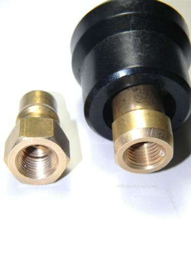 """Carpet Cleaning Hose Truckmount 1//4/"""" M//F QUICK DISCONNECT w//Heat shield Wand"""