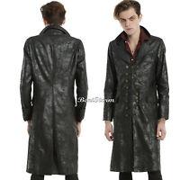 Abc Disney Once Upon A Time Captain Hook Killian Long Duster Coat Jacket Mens L