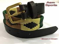 Gaucho Leather Polo Belt Argentinian Style (australian Stockist)