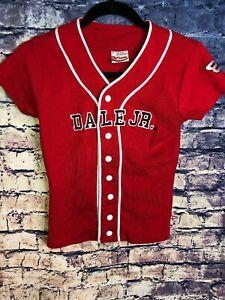 Dale Earnhardt Jr #8 Chase Authentics Nascar Baseball Jersey Size S🔥Rare