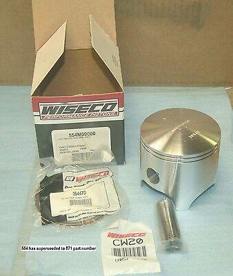 1.50mm Oversize to 90.50mm For 1988 Honda CR500R~Wiseco 871M09050 Piston Kit