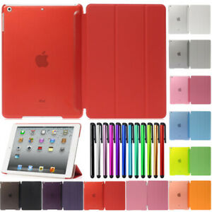 Smart-Case-Cover-Stand-Magnetic-Slim-Leather-For-Apple-iPad-4-3-2-Air-Mini-Pro
