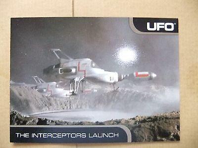 GERRY ANDERSON UFO CARDS INC PROMO CARD P4 INTERCEPTOR ED BISHOP GABRIELLE DRAKE