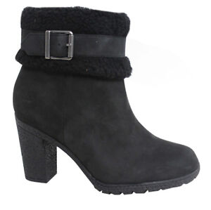 Timberland D120 Womens neri Zip Heeled Earthkeepers Ankle Stivali Up Glancy A16cb rtTvwtWq