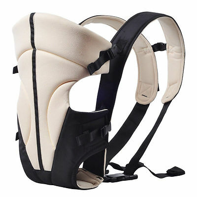 New 3 Ways Baby Carrier Backpack Newborn Infant Adjustable Comfort Sling Wrap