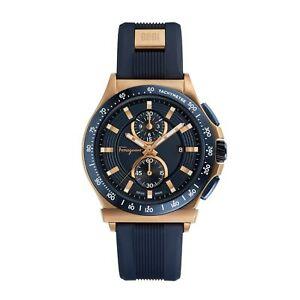 Ferragamo FFJ020017 Men's 1898 Blue Quartz Watch