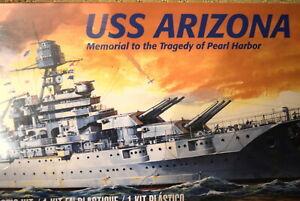 Revell-1-426-USS-Arizona-Battleship-Model-Kit-WW2-KIT-Pearl-Harbor