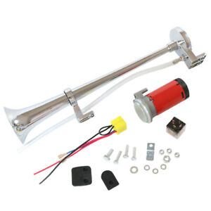 Universal 150DB 12V Single Train Trumpet Car Air Horn Compressor with Super Loud